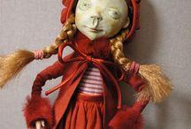 Art Dolls by Lena Ovcharova / https://www.pepiniera.pl/lalki,13.html
