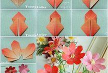 折り紙の花
