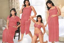 6 pc nighty nightwear