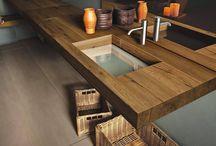 Baños - mueble de diseño / Muebles de baño