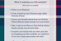 Perfectly STyled / My entry for Perfectly STyled and also some inspiration for my fall wordrobe