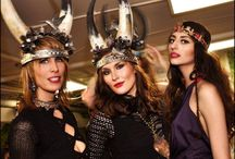 Desert Fashion Style / Hippie Inspired headdress and jewelry to make any music festival special
