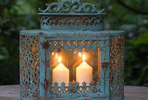 Lanterns 燈籠高掛 / A little lantern blinked in the darkness,lighting my way....