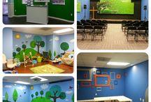 Children's ministry room