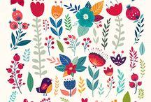 Flowers doodle