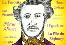 Donizetti / Gaetano DONIZETTI  29 November 1797 - 8 April 1848 (age 50) Donizetti was one of the great masters of bel canto opera together with Rossini and Bellini.