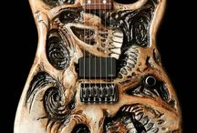cool guitar body shapes/designs