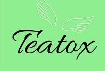 TeaTox Q BOX / Detoxifying, antioxidant and weight loss teas.