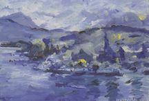 Impressionisme ~ Lovis Corinth / 21 juli 1858 Taplau - 17 juli 1925 Zandvoort