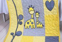 Very cute baby blanket / quilt.