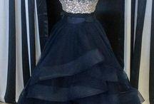 Prom dressed