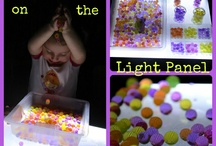Light Table Activities / Thanks to some people who have great ideas I have a very useable collection of light table activities. Wow, love these ideas.