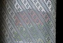 chrochet curtain