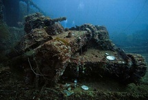 Sunken Planes, Subs & Tanks / by EagleCollector83