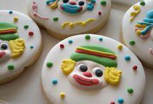 clown  cookies -Patati Patatá