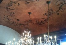 Ceilings / Handpainted and Faux Finishes on Ceilings