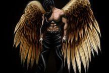 ангел мужик