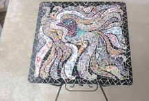 MOSAICS I HAVE MADE / Some of my mosaic creations