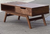 Mid century-inspired furniture