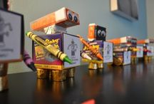 Back to School Robots