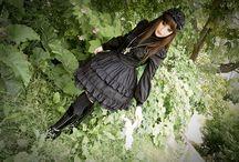 Gloomth Dark Garden / Gothic and Lolita fashion handmade in Toronto.