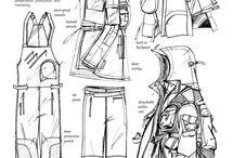 Технологический рисунок одежды