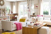 Salón, sala de estar/ living room