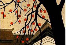 Kiyoshi Saito and other japanese Prints