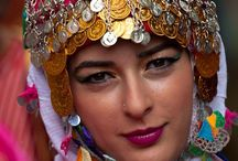 Traditional Turkish woman
