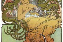 MUCHA / Alphonse Mucha - the greatest  Art Nouveau artist and designer