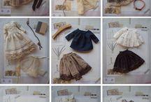 Одежда / аксессуары для кукол / выкройки кульной одежды и просто луки для вдохновения