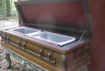 Coffins and other creepy things