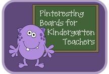 Teacher Resource/Kindergarten / by Larena Kern