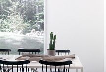 dining spaces / inspiring spaces for the simplest but most precious ritual of sitting down to eat