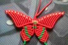 mariposas macrame