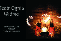 Taniec z ogniem - Fireshow - Teatr Ognia Widmo / Teatr Ognia Widmo  www.teatrwidmo.cba.pl