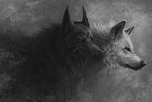 æs. skjöll / norse • wolf twin • will someday eat the sun