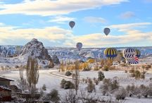 Cappadocia Hot Air Balloons / More hot air balloon rides are taken in Cappadocia Turkey than anywhere else in the world. Simply amazing. / by Duke Dillard