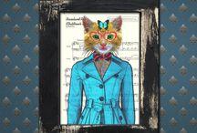 Print Art - MoonlitSol.etsy.com / Amazing portraits by MoonlitSol