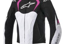 Motorcycle riding gear for her / by MotoSport .com