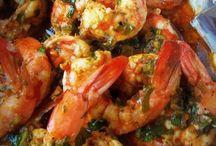 Good Eats shrimp