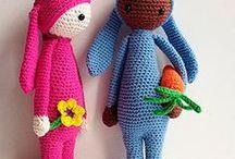 Rica the rabbit lalylala pattern in english