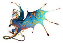 Art - Dragons - фантастические Драконы