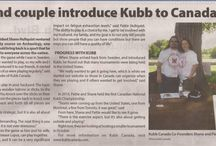 Media & Appearances / Kubb Canada sightings in and around the Ottawa Valley.