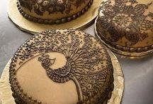 Henna cakes