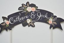 the cake topper