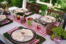Art de la table / Découvrez plein d'idées sympa pour décorer vos tables !