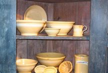 Yellow ware / by Julemarie Smith