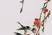 Ukiyo E Flowers