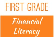 First Grade: Financial Literacy / This board contains resources for Texas TEKS: 1.9A -  define money earned as income  1.9B -  identify income as a means of obtaining goods and services, often times making choice between wants and needs  1.9C -  distinguish between spending and saving  1.9D -  consider charitable giving